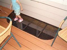 deck over basement windows - Google Search