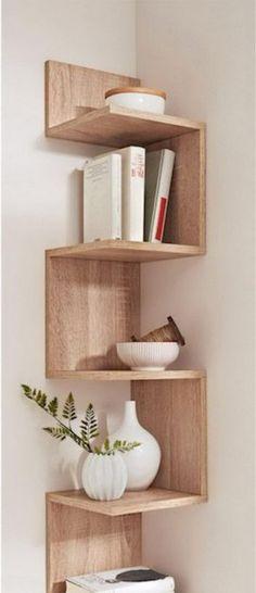 8 DIY Corner Shelf Decorating Ideas to beautify your corners