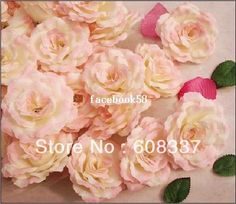 7.5cm Rose Flower Head ,Silk Flower 11.30/30
