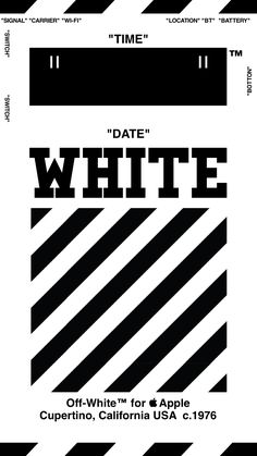 "Off-White™ ""OFFWHITE"" ""WALLPAPER"" ""IPHONE"" ""壁紙"" ""TYPE C-wh"" 18/4/3-8"