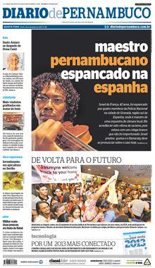 ESPANHA - GRANADA - BRASILEIRO foi espancado nesse domingo(23-dez-12).Aconteceu quando ele caminhava com um amigo por Zaidin,onde mora.Conhecido pela história de superação,por ter sido vítima de um ato racista que repercutiu internacionalmente em1980,o maestro e violinista da Orquestra de lá -Israel de França - foi novamente vítima de agressão.Foi espancado por policiais do Corpo Nacional de Polícia da Espanha, quando caminhava com um amigo por uma das ruas do bairro de Zaidin, onde mora.