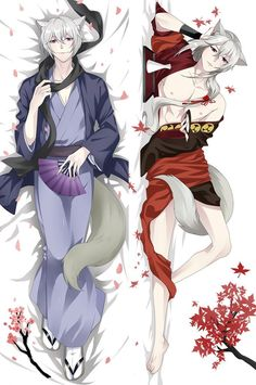 Kamisama Hajimemashita Tomoe Hugging Body pillowcase