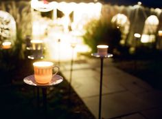 Coffee cup outdoor lighting?!