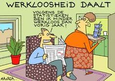 Werkloosheid daalt! Forced Labor, Find A Job, Statistics, Four Square, Netherlands, Cartoons, News, Funny, Period