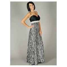Zebra Print Bridesmaid Dress Not For Me Though Cuz I Could Never Pull This Off