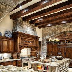 Beautiful Old World Kitchen