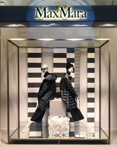 "MAXMARA, Modena, Italy, ""Listen Felicity... Remember, just because it's black and white, doesn't automatically make it a zebra"", photo by VM.hu, pinned by Ton van der Veer"