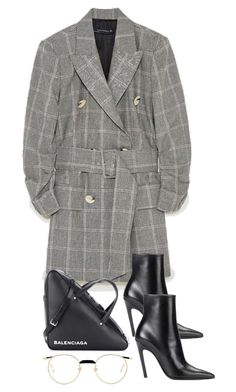 """""""Untitled #4704"""" by theeuropeancloset on Polyvore featuring Balenciaga and Gucci"""
