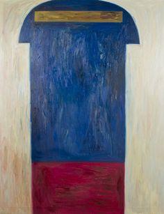 Silja Rantanen: Angelico, 1992, öljy, 180 x 140 cm. Hagelstam.