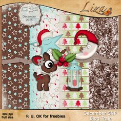 FREE Liza's Home: SNP December Blog Train