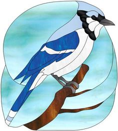Bluejay color key scontent-b-atl.xx.fbcdn.net: Stained Glass Birds, Stained Glass Designs, Stained Glass Projects, Stained Glass Patterns, Stained Glass Windows, Mosaic Animals, Mosaic Birds, Glass Animals, Mosaic Art