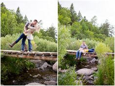 Plum Pretty Photogaphy | Colorado Springs Engagement Photos | Black Forest Colorado | Castlewood Canyon State Park | Colorado Engagement Photographer