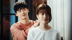 "W, Two Worlds - Korean Drama Summary : A romance takes place between Kang Chul (Lee Jong-Suk), who is super rich and exist in the webtoon ""W,"" and Oh Yeon-Joo (Han Hyo-Joo) who is a surgeon in the real world. Han Hyo Joo Lee Jong Suk, Lee Jong Suk Cute, Lee Jung Suk, W Kdrama, Kdrama Actors, W Two Worlds, Between Two Worlds, Mundo Gif, W Korean Drama"
