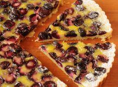 Tarta Flan de Cerezas o Tarta Clafouti