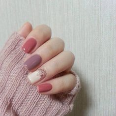 Fall Is Coming Spice Up Your Nails With Fall Colors And A Cute Design!! #Beauty #Musely #Tip best makeup products - http://amzn.to/2jpvOwg