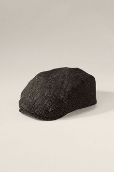 Lands' End Canvas Gifts - Men's Wool Herringbone Touring Cap $59.50. Classic touring cap inspired by the flat caps worn back in the 1920s.