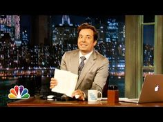 ▶ Jimmy Fallon's Do Not Read List -- Summer 2013 - YouTube