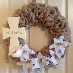 Easter Wreath-without the flowers