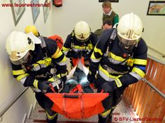 Firefighters training in austria