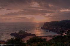Sunset On Portelet Bay