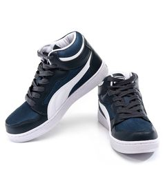 Puma Rebound Navy Casual Shoes