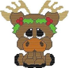 Everything Plastic Canvas - My Pal Bruce the Moose