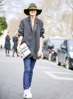12 Ways To Style Your Basic Skinny Jeans via @WhoWhatWear