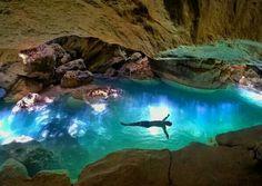 Secret Swims at Kanlaob River Canyon - Alegria, Philippines