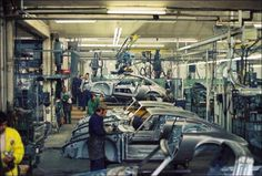 1971 Production line Porsche