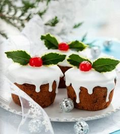 25 super ideas para decorar la comida en Navidad | Navideño ...