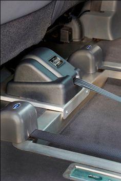 Treuil pour fauteuil roulant véhicule TPMR.