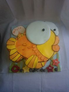bright fish cake