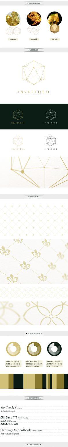 INVESTORO corporate identity / webdesign by Lukas Vanco, via Behance