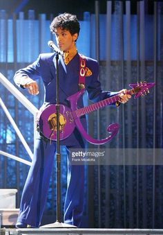 Musical Artsin Prince performs at the 46th Annual Grammy Awards held at the Staples Center on February 8, 2004 in Los Angeles, California.