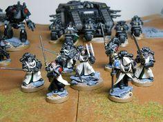 Dark Angels Master and custom built Honour Guard