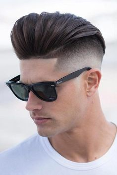 Undercut With Long Slicked Back Top ❤️ Want to find a suitable undercut men hairstyle? Short curly undercut fade, messy cuts for long hair, modern disconnected cuts, braids with bun and lots of cool styles are here! Trendy Mens Hairstyles, Quiff Hairstyles, Cool Hairstyles, Hairstyle Short, Trendy Hair, Hairstyle Ideas, Popular Haircuts, Haircuts For Men, Haircut Men
