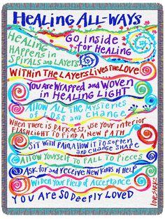 Healing All-Ways Blanket