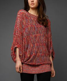 Craft a comfy-chic ensemble with this cozy sweater. The perfect blend of softness and sophistication, this sweater is seeking the most stylish of mavens.