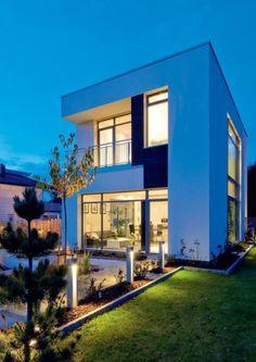Casa moderna de estilo asiático