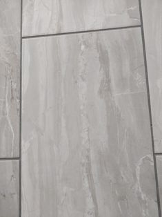 Grey bathroom tile B&Q Grey Bathroom Tiles, Grey Tiles, Grey Bathrooms, Hardwood Floors, Tile Floor, Texture, Living Room, Wood Floor Tiles