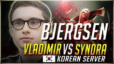 Bjergsen Playing Vlad In Korean Server ( Full Gameplay  Runes And Masteries) https://www.youtube.com/attribution_link?a=DerRuoBCeII&u=%2Fwatch%3Fv%3DU50qwaYyenU%26feature%3Dshare #games #LeagueOfLegends #esports #lol #riot #Worlds #gaming