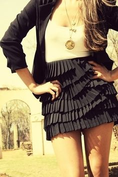love black and white outfits