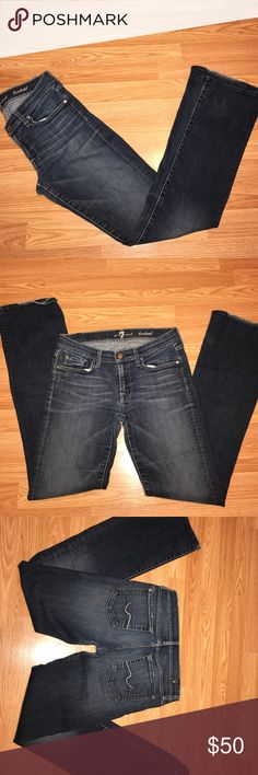 7 for all mankind  bootcut jeans Excellent pre owned cond. 7 For All Mankind Jeans Boot Cut