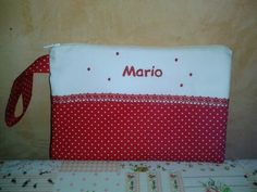 Neceser bordado para Mario