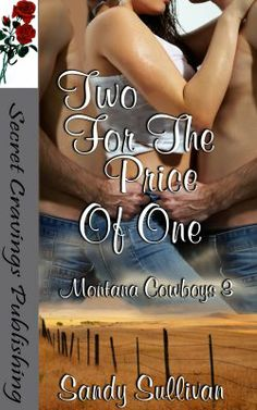 Two For The Price Of One (Montana Cowboys 3) (MFM)