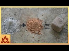 This video from Primitive Technology shows how to make improvised cement from natural wood ash. This building material is strong and moisture-resistant. Garden Compost, Vegetable Garden, Organic Gardening, Gardening Tips, Primitive Technology, Wood Ash, Homestead Survival, Bushcraft, Gardens
