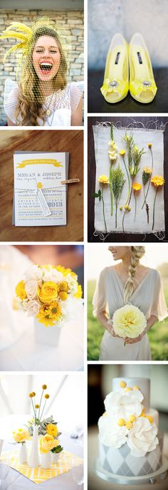 It's springtime and that means we're gearing up for bright pops of sun and all the fabulous colors that Mother Nature brings! Today we're talking about yellow! Yellow weddings are a great way to get your guests in a cheery mood to celebrate!