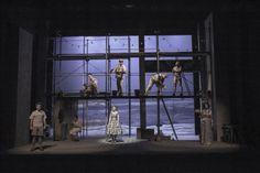 """The time of love"" by by Ron Roy Rashkes Habima theater, Tel Aviv, 2013 Photo by Avital Peleg"
