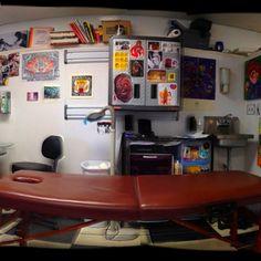 My tattoo shop #oceanmystiqueVB
