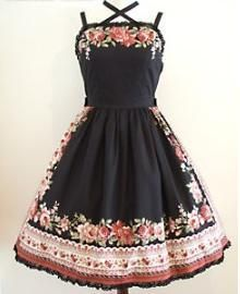 Innocent World Rose Panel JSK 93cm « Lace Market: Lolita Fashion Sales and Auctions
